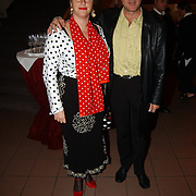 Premiere Revue, Alfred van den Heuvel en vrouw Debbie de Jong