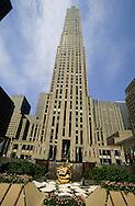 Rockfeller Plaza  New York; Manhattan  Usa /   Rockfeller Plaza  New York; Manhattan  USa depuis  R00273/    L004425  /  P100321
