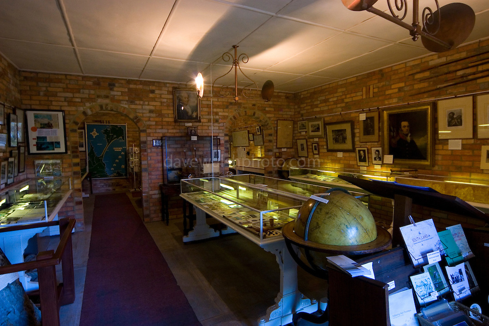 "The museum is located at the southern end of Adventure Bay, on the main road close to the Captain Cook Creek.  The museum has a comprehensive selection of artefacts and documents relating to Pacific exploration.  Also in the museum are a selection of articles and maps etc related to other explorers including Captain Cook.   On the left hand side of the page is an image of a very famous artifact: a tree trunk on which was carved ""Cook 1777""."