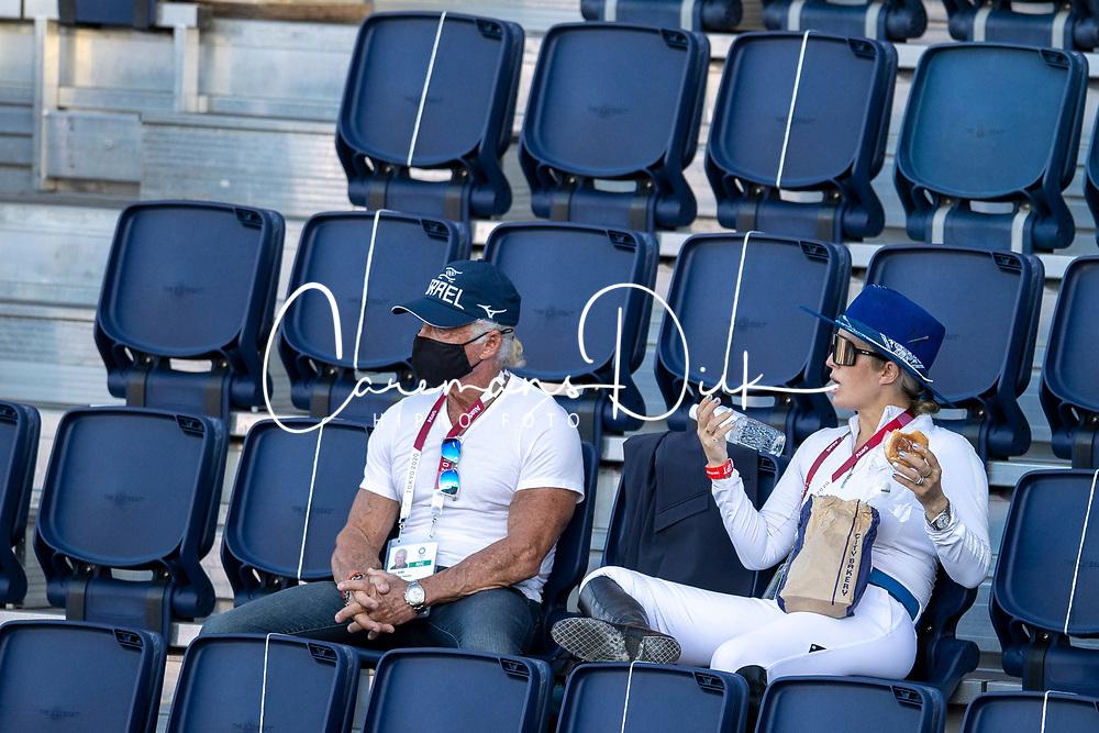 Team Israel, Ashley Bond, Steve Bond<br /> Olympic Games Tokyo 2021<br /> © Hippo Foto - Dirk Caremans<br /> 03/08/2021