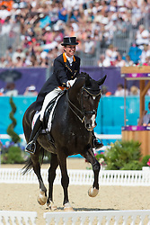Van Grunsven Anky (NED) - IPS Salinero<br /> Olympic Games London 2012<br /> © Dirk Caremans