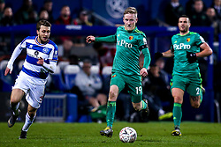 Will Hughes of Watford runs with the ball - Mandatory by-line: Robbie Stephenson/JMP - 15/02/2019 - FOOTBALL - Loftus Road - London, England - Queens Park Rangers v Watford - Emirates FA Cup fifth round proper