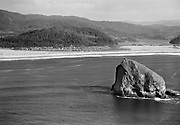 Ackroyd 01751-19. Cape Kiwanda and Pacific City. September 13, 1949