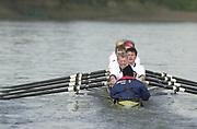 Hammersmith, London. 2002 University Boat Race, 26/3/2002, Tideway Week,<br /> <br /> <br /> Photo Peter Spurrier<br /> 27/03/2002<br /> 2002 Varsity Boat Race-Tideway week<br /> Oxford and Cambridge Veteran's boat race 20020327 University Boat Race, [Varsity],  Tideway Week. Putney. London