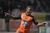 Joie Laval - Cesar ZEOULA  - 06.03.2015 - Nancy / Laval - 27eme journee de Ligue 2 <br />Photo : Fred Marvaux / Icon Sport