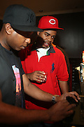 l to r: Talib Kweli and DJ Hi-Tek at The Rock The Bells Presents Reflection Eternal held at  BB KIngs on August 28, 2009 in New York City
