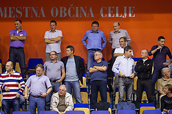 VIP seats during handball match between RK Celje Pivovarna Lasko and RK Gorenje Velenje in 5th Round of 1. NLB Leasing Handball League 2012/13 on October 3, 2012 in Arena Zlatorog, Celje, Slovenia. Gorenje defeated Celje 25-24. (Photo By Vid Ponikvar / Sportida)