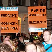 NLD/Utrecht/20130411 - Oranjes bij 300 jaar Vrede van Utrecht,