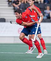 AMSTELVEEN -   tijdens de hockey hoofdklasse competitiewedstrijd  heren, Amsterdam-HC Tilburg (3-0).  COPYRIGHT KOEN SUYK