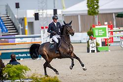 TEBBEL Maurice (GER), Camilla PJ<br /> Hagen - Horses and Dreams 2019<br /> Preis der Pott´s Brauerei GmbH CSI2*<br /> Finale Mittlere Tour<br /> 28. April 2019<br /> © www.sportfotos-lafrentz.de/Stefan Lafrentz