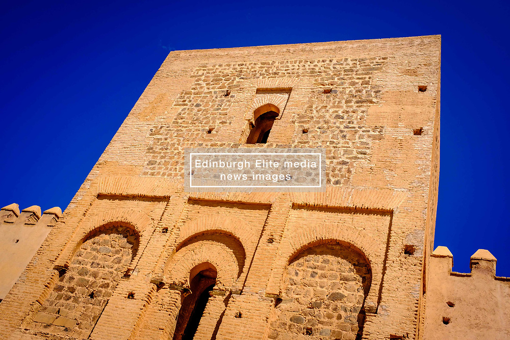 The Tinmel Mosque.  The Tinmel Mosque is a mosque located in the High Atlas mountains of North Africa. It was built in 1156 to commemorate the founder of the Almohad dynasty, Mohamed Ibn Tumart. It is one of the two mosques in Morocco open to non-Muslims.<br /> <br /> (c) Andrew Wilson   Edinburgh Elite media