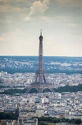 An aerial picture taken on July 11, 2019 over Paris, France, shows the Eiffel Tower. Photo by Eliot Blondet/ABACAPRESS.COM  Tour Eiffel Eiffel Tower Illustration Illustration    691544_002 Paris France