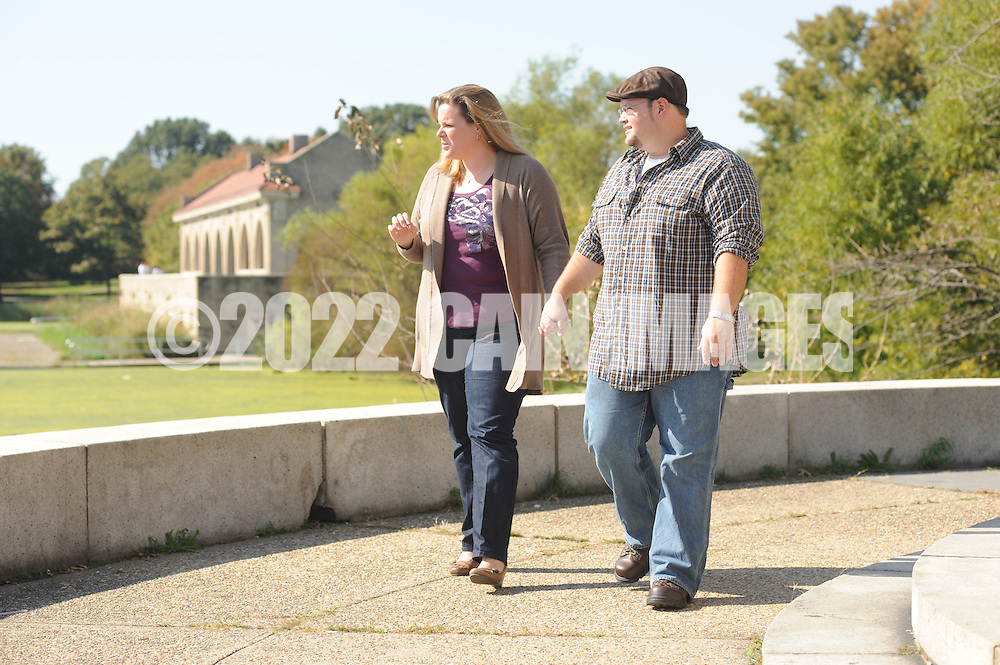 PHILADELPHIA, PA - OCTOBER 9: Andrea and Dan photographed by William Thomas Cain/cainimages.com)