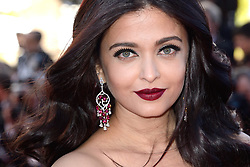 File photo dated May 19, 2017 of Aishwarya Rai attending the 120 Battements Par Minute Screening as part of the 70th Cannes Film Festival in Cannes, France. Aishwarya Rai Bachchan has been taken to hospital after testing positive for Covid-19 earlier this week. The Indian actress, a former Miss World and one of Bollywood's most famous faces, is being treated at Mumbai's Nanavati Hospital, it was reported. her daughter Aaradhya has also been taken to hospital. Photo by Aurore Marechal/ABACAPRESS.COM