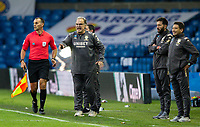Leeds United manager Marcelo Bielsa shouts instructions to his team from the technical area<br /> <br /> Photographer Alex Dodd/CameraSport<br /> <br /> The EFL Sky Bet Championship - Leeds United v Luton Town - Tuesday 30th June 2020 - Elland Road - Leeds<br /> <br /> World Copyright © 2020 CameraSport. All rights reserved. 43 Linden Ave. Countesthorpe. Leicester. England. LE8 5PG - Tel: +44 (0) 116 277 4147 - admin@camerasport.com - www.camerasport.com