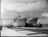 1958 Irish Pine and Irish Cedar Ships at Alexandra Basin