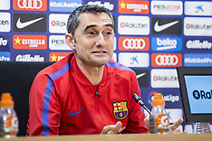 FC Barcelona press conference - 05 May 2018
