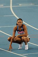 ATHLETICS - IAAF WORLD CHAMPIONSHIPS 2011 - DAEGU (KOR) - DAY 3 - 29/08/2011 - PHOTO : STEPHANE KEMPINAIRE / KMSP / DPPI - <br /> 400 M - WOMEN - FINALE - SILVER MEDAL - ALLYSON FELIX (USA)