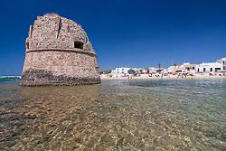 Torre Pali, mar Jonio