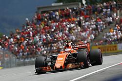 July 9, 2017 - Spielberg, Austria - Motorsports: FIA Formula One World Championship 2017, Grand Prix of Austria, ..#2 Stoffel Vandoorne (BEL, McLaren Honda) (Credit Image: © Hoch Zwei via ZUMA Wire)