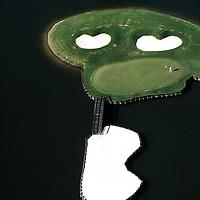 Golf Course, Florida, USA