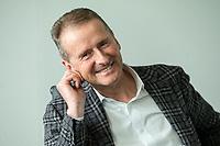 30 MAR 2020, WOLFSBURG/GERMANY:<br /> Herbert Diess, Vorstandsvorsitzender Volkswagen AG, waehrend einem Interview, VW Konzernzentrale<br /> IMAGE: 20200330-01-007
