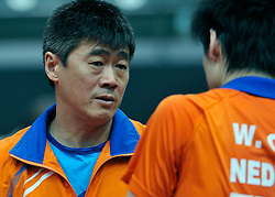 09-05-2011 TAFELTENNIS: WORLD TABLE TENNIS CHAMPIONSHIPS: ROTTERDAM<br /> Coach Chen Chibin NED<br /> ©2011-FotoHoogendoorn.nl