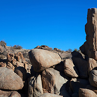 USA, California, Joshua Tree. Boulders of Joshua Tree.