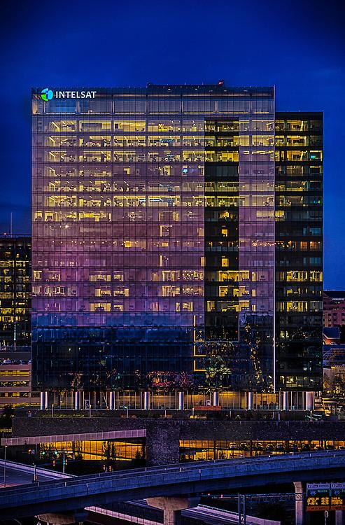 INtelsat corporate headquarters in Mclean virginia