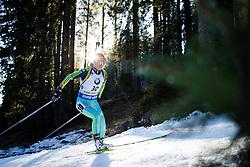 Valj Semerenko (UKR) during Women 12.5 km Mass Start at day 4 of IBU Biathlon World Cup 2015/16 Pokljuka, on December 20, 2015 in Rudno polje, Pokljuka, Slovenia. Photo by Ziga Zupan / Sportida
