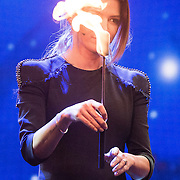 NLD/Aalsmeer/20151120 - 1e show Mindmasters Live 2015, zwangere Sabia Boulahrouz - Engizek