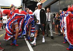 June 24, 2018 - Le Castellet, France - Motorsports: FIA Formula One World Championship 2018, Grand Prix of France, .#44 Lewis Hamilton (GBR, Mercedes AMG Petronas Motorsport) (Credit Image: © Hoch Zwei via ZUMA Wire)