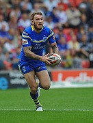 Warrington Wolves Daryl Clark during the Ladbrokes Challenge Cup Semi-Final  match Warrington Wolves -V- Wakefield Trinity Wildcats at , Leigh, Greater Manchester, England on Saturday, July 30, 2016. (Steve Flynn/Image of Sport)
