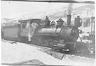 RGS class 60 locomotive switching at Rico.<br /> RGS  Rico, CO