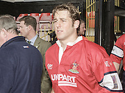 Watford. Great Britain. <br /> Andy GOMARSALL Heineken Cup Semi Final; Gloucester Rugby vs Leicester Tigers. Vicarage Road Stadium, Hertfordshire.England.  <br /> <br /> [Mandatory Credit, Peter Spurrier/ Intersport Images].