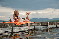 Lake Winnisquam New Hampshire Summer 2014.  ©2014 Karen Bobotas Photographer