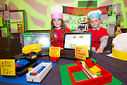 Kiera Kilgannon and Josh Evanson from Castleblakeney NS at the Medtronic Junior FIRST LEGO League challenge at the Radisson Blu Hotel Galway. This is the second year The Galway Education Centre has hosted this competition - one of only six countries in the world who do so. Following the success of last year, over 500 school children from all over the country are expected to come along and practice their robotics, presentation and teamwork skills live on the night!. .Bernard Kirk, Director of The Galway Education Centre says; ?Working on this three day event every year is fun and exciting and always surprising. The talent, instinct and drive we discover in these young children is an inspiration to all of us. We look forward to the continued success of all of our challenges which would not be possible without the support of companies like Medtronic, SAP, HP and LEGO?. Photo:Andrew Downes
