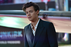 © Licensed to London News Pictures. 13/07/2017. London, UK. HARRY STYLES attends the Dunkirk World Film Premiere. Photo credit: Ray Tang/LNP