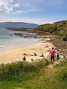 On the beach, Porpoise Bay, The Catlins, Clutha, New Zealand.