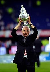 27-04-2008 VOETBAL: KNVB BEKERFINALE FEYENOORD - RODA JC: ROTTERDAM <br /> Feyenoord wint de KNVB beker - Coach Bert van Marwijk<br /> ©2008-WWW.FOTOHOOGENDOORN.NL