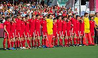 ANTWERP - BELFIUS EUROHOCKEY Championship.   England-Belgium (0-2) men . line up England. WSP/ KOEN SUYK