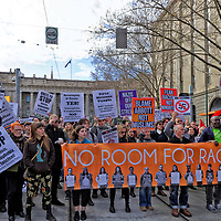 RALLY AGAINST RACISM - Saturday July 18 2015 - at Victorian Parliament House, Spring Street  Melbourne