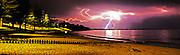 Lightning Storm at Torquay's Cosy Corner  Steve Ryan Photography