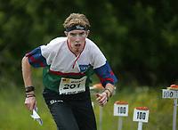Orientering, 21. juni 2002. NM sprint. Murray Strain, Østmarka.