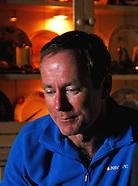 Ian McKeever photographed in Westport 2011