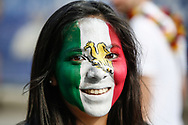 Fan of Mexico before the 2018 FIFA World Cup Russia, Group F football match between Germany and Mexico on June 17, 2018 at Luzhniki Stadium in Moscow, Russia - Photo Thiago Bernardes / FramePhoto / ProSportsImages / DPPI
