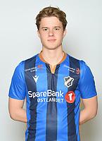Fotball , Eliteserien 2020 , portrett , portretter , Stabæk<br /> Peder Vogt