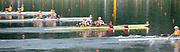 Shunyi, CHINA.  Start of  the Women's Double Scull (b) GER W2X, Bow, AUS W2X  (b)SENS Catriona and<br /> MILLS Sonia CZE W2X, (b) ANTOSOVA Jitka and <br /> VAREKOVA Gabriela, USA W2X (b) KALMOE Megan and TOMEK Ellen, UKR  (b) TARASENKO Kateryna<br /> DEMENTYEVA Yana,   at the 2008 Olympic Regatta, Shunyi Rowing Course. Monday. 11/08/2008  [Mandatory Credit: Peter SPURRIER, Intersport Images]