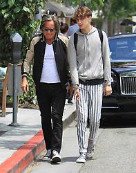May 25, 2017 - Los Angeles, California, USA - 5/24/17.Mohamed Hadid and Anwar Hadid are seen in Los Angeles, CA. (Credit Image: © Starmax/Newscom via ZUMA Press)
