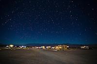 Van camping.